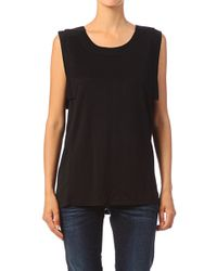 Ichi Sleeveless Top Lantina To - Lyst