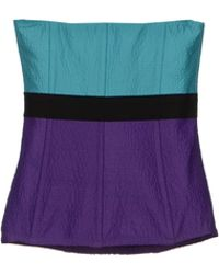 Oh My Corset Tube Top - Lyst