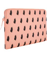 Marc Jacobs Catprint 13 Computer Case - Lyst