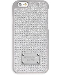 Michael Kors Pavé Phone Case For Iphone 6 - Lyst