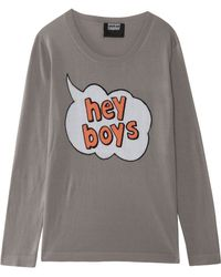 Markus Lupfer Hey Boys Cotton Jumper - Lyst