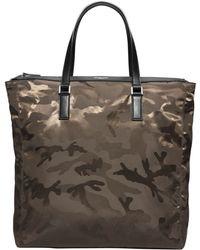 Michael Kors Kent Large Camouflage Nylon Tote - Lyst