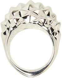 Stephen Webster Superstud Large Studded Dome Ring - Lyst