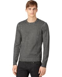 Calvin Klein Jeans Cloud-wash Sweater - Lyst