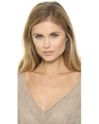 Helen Ficalora - Key Charm - Silver - Lyst