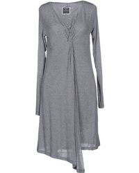 MiH Jeans Short Dress gray - Lyst