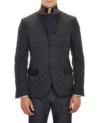 Junya Watanabe Tech Fabric  Tweed Sportcoat - Lyst