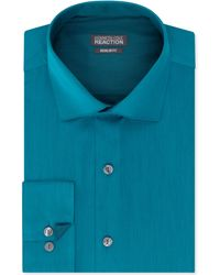 Kenneth Cole Reaction Solid Dress Shirt - Lyst