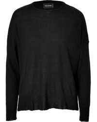 Zadig & Voltaire Cashmere Pullover - Lyst