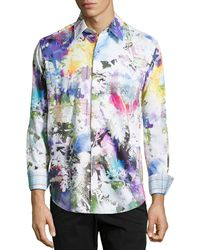 Robert Graham Abstract Print Mack Daddy Classic Fit Sport Shirt - Lyst