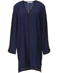 T By Alexander Wang Blue Short Dress - Lyst