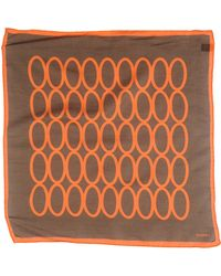 Piombo - Square Scarf - Lyst