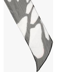 Halston - Glowing Wings Printed Scarf - Lyst