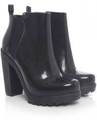 Melissa Soldier Boots - Lyst