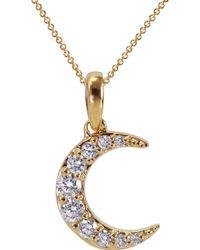 Khai Khai - La Luna Moon Necklace - Lyst
