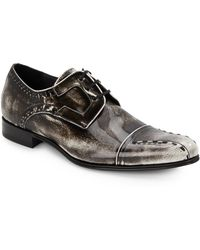 Mezlan Paolino Leather Derby Shoes - Lyst