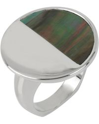 Kenneth Cole | Lunar Eclipse Shell Cocktail Ring | Lyst