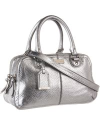 Cole Haan | Capri Metallic Duffle Bag | Lyst