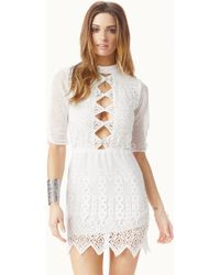 Jen's Pirate Booty Nova Mini Dress white - Lyst