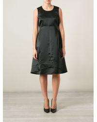 Jil Sander Sleeveless Dress with Stitching Details - Lyst