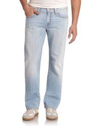 True Religion Ricky Straight-Leg Jeans - Lyst