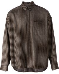 Haider Ackermann Striped Boxfit Shirt - Lyst