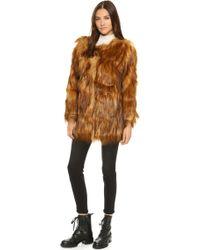 Unreal Fur - Wanderlust Coat - Lyst