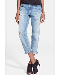 Current/Elliott Women'S 'The Fling' Rolled Jeans - Lyst