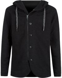 Diesel Zip Through Hoodie - Lyst