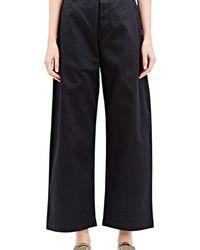 Kowtow - Wide Leg Cotton Trousers - Lyst