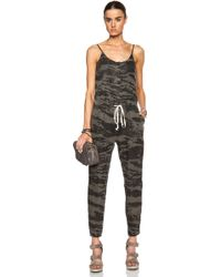 Enza Costa Linen Strappy Jumpsuit - Lyst