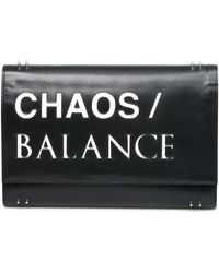 Undercover - Printed Clutch Bag - Lyst