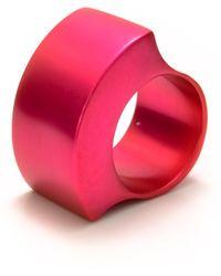 Filip Vanas - Tectonics Gamma Ring Pink - Lyst