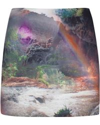 Ted Baker Silloh Rainbow Waterfall Mini Skirt - Lyst