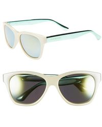Isaac Mizrahi New York | 55mm Retro Sunglasses | Lyst