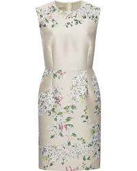 Giambattista Valli Floral Jacquard Dress - Lyst