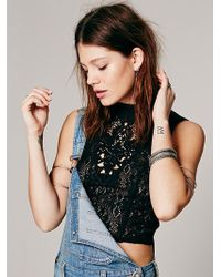 Free People Greatest Hits Crop Top - Lyst