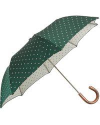 Barneys New York Green Floral Umbrella - Lyst