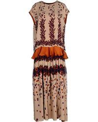 Maurizio Pecoraro Long Dress - Lyst