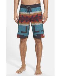 Vans 'Nathan Fletcher' Board Shorts - Lyst