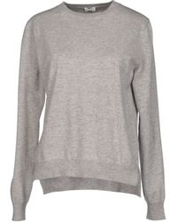 Celine Gray Sweater - Lyst