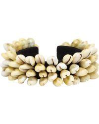 Isabel Marant Seashell Cuff - Lyst