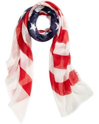 Collection XIIX Flag Square Scarf - Lyst