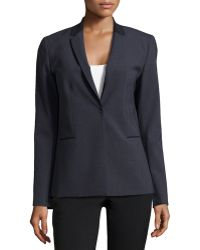 Elie Tahari Darcy One-Button Jacket - Lyst