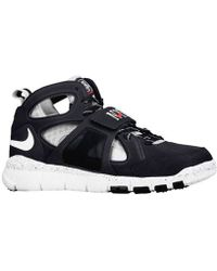 "Nike Huarache Free Shield ""Yankees"" black - Lyst"