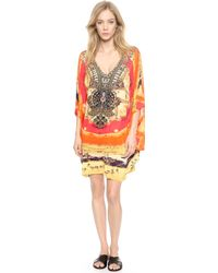 Camilla Bat Sleeve Cover Up Dress  The Trail Blazer - Lyst