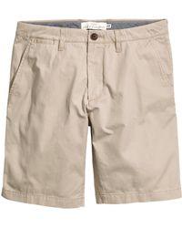 H&M Chino Shorts - Lyst