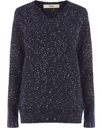 Oasis The Nicole Sequin Knit Jumper - Lyst