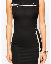 Little Black Dress - Liz Dress With Bar Detail - Lyst