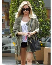 Current/Elliott Infantry Jacket in Army Camo As Seen On Ashley Tisdale - Lyst